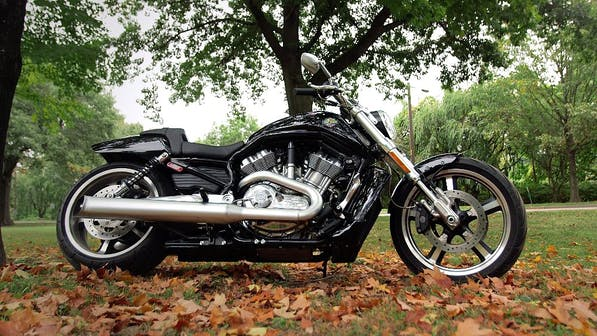 Harley-Davidson V-Rod Muscle review