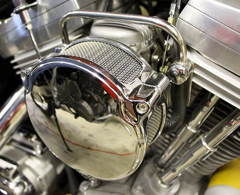 How To Diagnose And Fix An Intake Leak Revzilla Kenmore 80 Series Washer Parts Diagrams Motorcycle Review Evolution Twin Cam Engines Stabilize The Outboard End Of With A Plate That Bolts Each Cylinder Head Photo By Lemmy