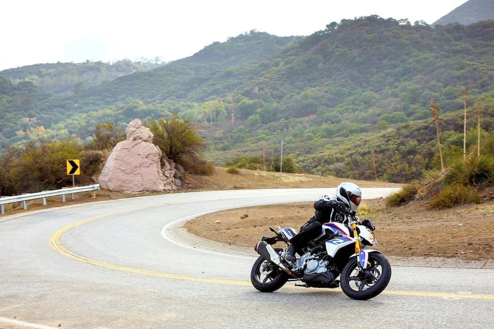 dcc3d62689a9 BMW G 310 R in the Santa Monica Mountains