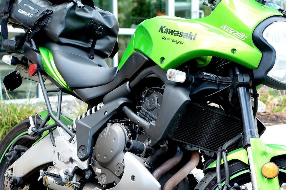 99752c974e The Kawasaki Versys 650 offers a practical division between fun and safety.  Comfort is through the roof. The package is friendly and approachable