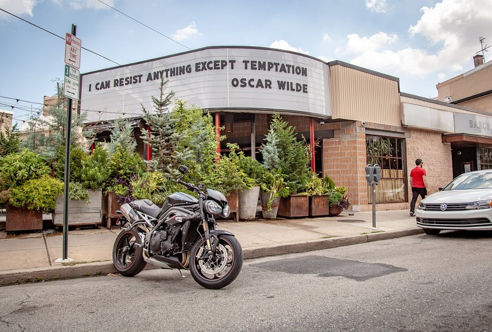 2018 Triumph Speed Triple Rs First Ride Review Revzilla