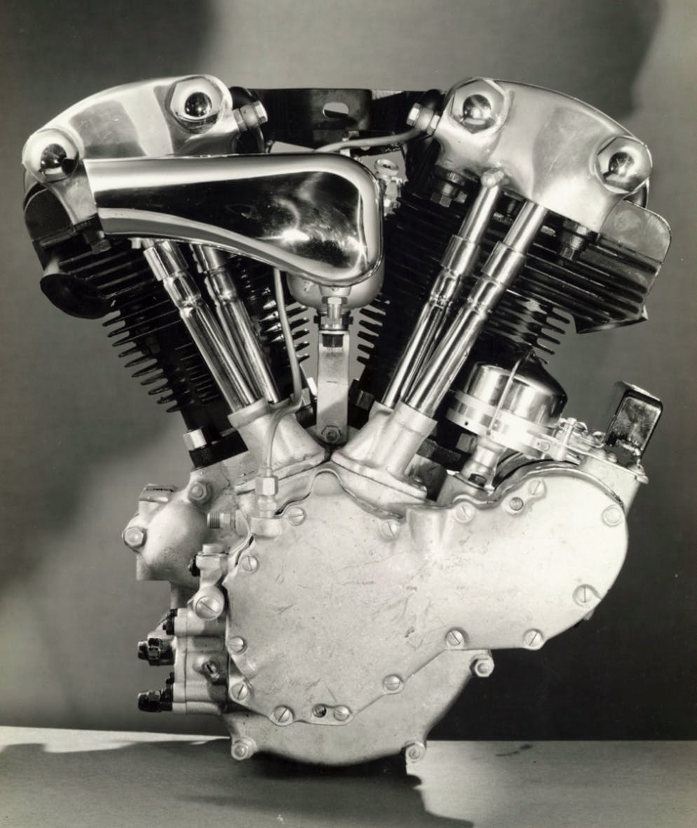 Why Do Harley Davidsons Have Dry Sump Engines Revzilla Davidson Firing Order Diagram The 1936 Knucklehead Right Was First To A Recirculating Oil System Photo
