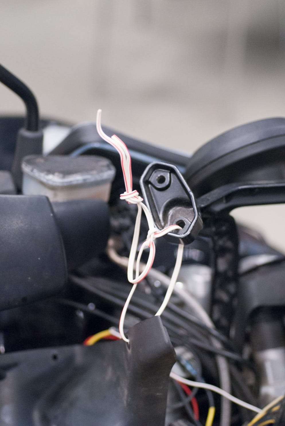 How To Tips For Installing Auxiliary Lights On Your Motorcycle Wiring Up Led Work Use Quality Stranded Wire Actual Electrical Because Subpar Might